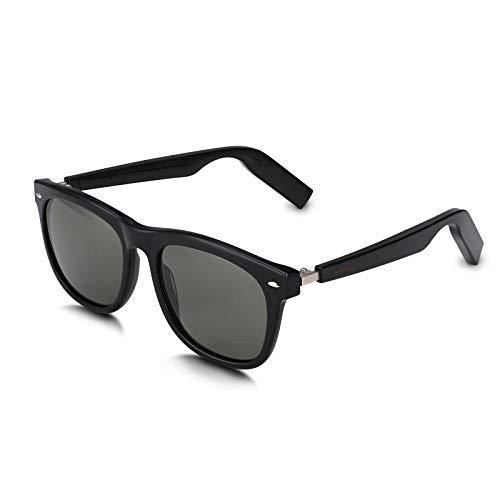 Scishion Bluetooth Smart Audio Sunglasses with Open Ear Wireless headphones, Listen Music and Phone...