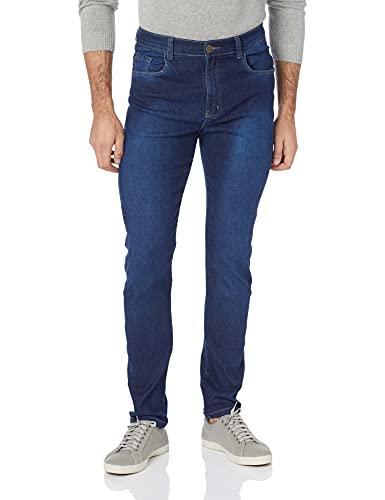 Jeans Básica, Polo Wear, Masculino, Jeans Escuro, 42