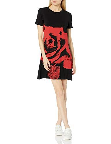 Desigual Vest_WASHINTONG Vestido Casual, Negro, M para Mujer