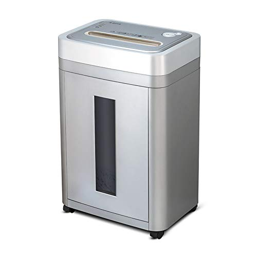 Great Features Of LEFJDNGB Commercial Equipment Disc A4 File Shredder,15-Sheet High Security Micro-C...