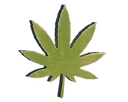 Rummy Weed Schild Unkraut-Dekor Marihuana Hanf CBD Cannabis Decor 420
