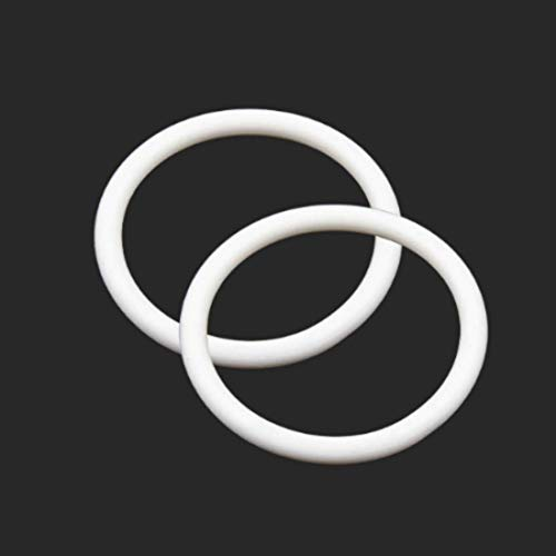 5 Pcs O-ring 65 mm x 75 mm x 5 mm | Silikon - SI Dichtungsringe Dichtung Gummidichtung O-ring 65x5-70 ShA - Dichtungen Gummiringe Set O-ringe Sortiment Dichtungssatz
