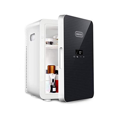 GOHHK Tragbarer Mini-Kühlschrank Elektrische Smart-Maschinenheizung (4 l / 6 Dosen) AC DC Tragbar Geeignet für Reisebüro-Schlafsaal- und Reisekühlschränke