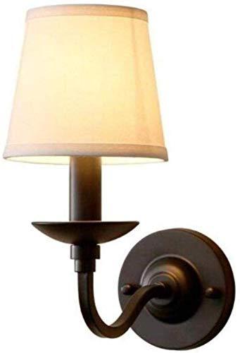 Sconce wandlamp moderne muur lamp E14 stof lampenkap muur hangen, 1,A Indoor verlichting wandlampen