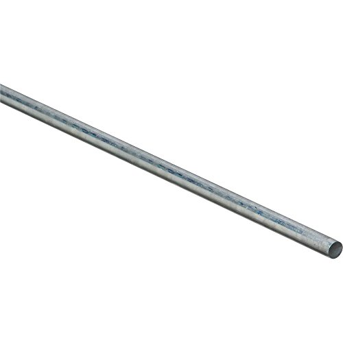 National Hardware N179-770 4005BC Smooth Rod in Zinc plated