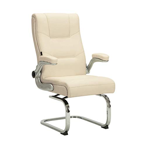 WY office chair Conference chair back video game chair back office chair armchair sleeping chair back financial institution chair back clinic chair office chair ( Color : Beige )