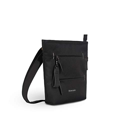 FUNCTIONAL DESIGN: The Sadie has three exterior zipper pockets, a back slip pocket, roomy main zipper compartment, two interior slip pockets, and an interior zipper pocket. This bag features a key fob and a PU Key puller / key chain. We want you to l...