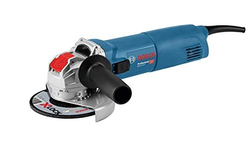 Bosch Professional GWX 10-125 - Amoladora angular (1000W, X-LOCK, 11000 rpm, Ø disco 125mm, en caja)