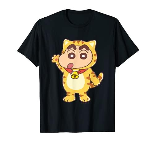 Crayon Shin-chan Kitten Play party Shin-chan T-Shirt