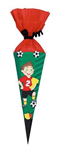 Ursus 9860003 - Schultüten Bastelset, Mini Fußballer, 41 cm, bunt