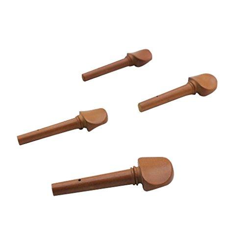 4 Stück Geigen-Wirbel für 4/4 Geigen, tolle Ersatzteile für Ihre Geigenreparatur