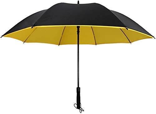 Paraguas, Fácil de transportar paraguas plegable paraguas grande Auto abierto Cierre Cierre de teflón Recubierto Ventilado Ventilado Viento Doble Doble Tabaño-Unisex Paraguas (Color: Verde) Pa