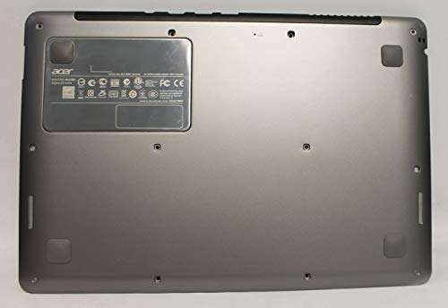ACS COMPATIBLE with ACER Bottom Base Cover Silver with Antenna Aspire S3-391-6046 ULTRABOOK Replacement