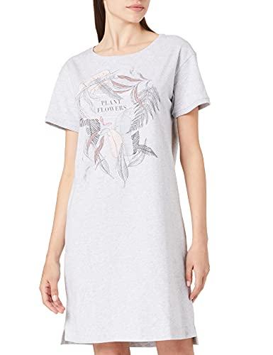 Triumph Damen Nightdresses NDK 10 X Nachthemd, Medium Grey Melange, 46