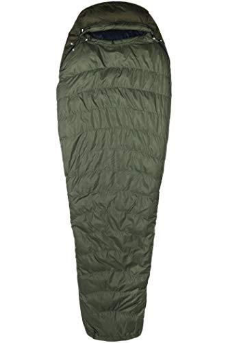 Marmot Fulcrum Eco 30, Remplissage en Duvet d'oie 700, très léger et Chaud, Sac de Couchage Grand Froid, idéal pour Camping et Trekking Unisex-Adult, Crocodile/Nori, 183 cm