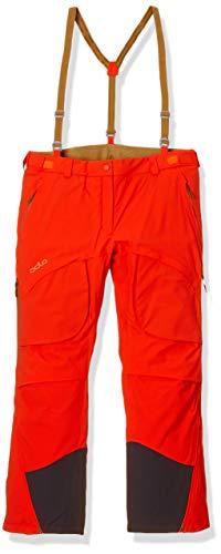 Odlo Pantalon Logic Primaloft Master - pour Femme - Orange/Or Dull - Taille XL