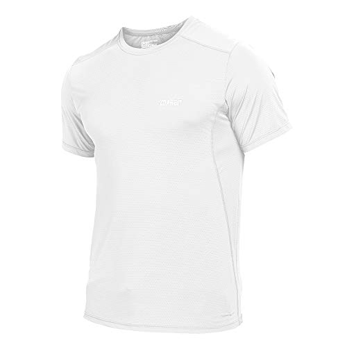 KARMARY Chemise Coupe-Vent Respirant pour Homme Masculin d'¨¦t¨¦ Running Running Jersey Jersey ¨¤ Manches Courtes Orange L