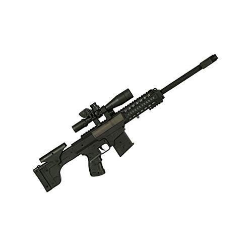 Finta mitragliatrice piccola sonora nera per bambini Taglia Unica