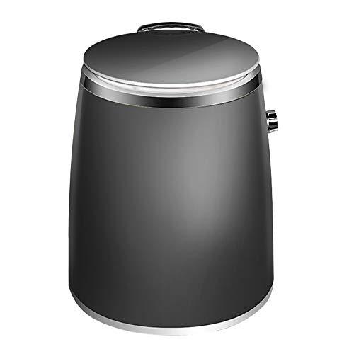 Flashing Lights Draagbare mini-wasmachine, 1 kg, buis met droger, kleine wasgoed, halfautomatische reiniging en afwatering van een huis