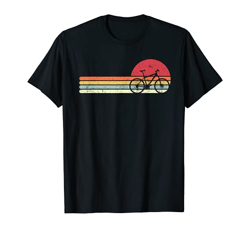 Cycling Shirt. Retro Style T-Shirt For Cyclist