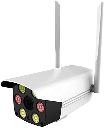 HLSH Cámara De Seguridad Inalámbrica, Cámara IP De WiFi Inalámbrica, con Impermeable, Detección De Movimiento, Visión Nocturna, Acceso Remoto, Características De Audio De 2 Vías