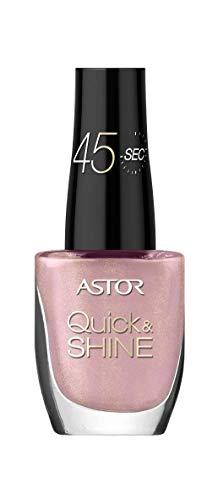 Astor Quick & Shine Esmalte de Uñas Tono 619 Enigmatic Berry - 41 g
