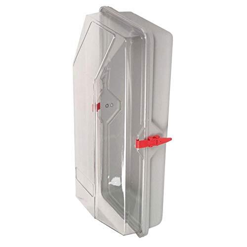 MINIMAX Feuerlöscher Schutzhaube für Feuerlöscher bis 6 kg Inhalt Maße (B x H x T): 28,0 x 67,0 x 18,0 cm aus Kunststoff mit Schnellspannhebeln, stoß- und witterungsbeständig