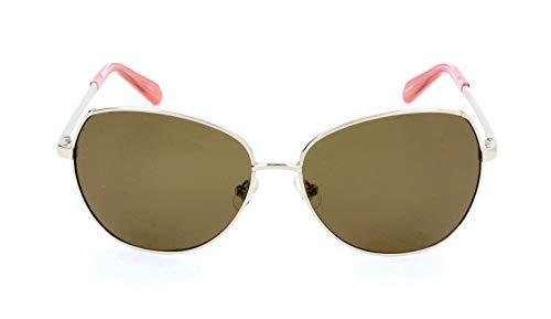 kate spade 3YG 58 14 135 Candida/P/S Wayfarer Sonnenbrille 58, Light Gold