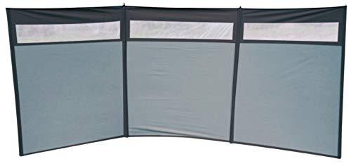 Euro Trail Windschutz Sun Set mit Fenster 500 x 140 cm