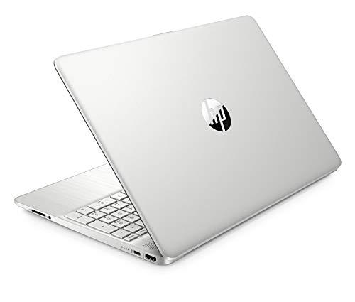 HP 15 Ryzen 3 15.6-inch FHD Laptop (4GB/256GB SSD/Vega 3 Graphics/Win 10/Natural Silver/1.69 Kg), 15s-ey1002au
