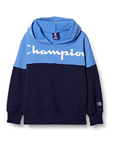 [チャンピオン] パーカー スクリプトロゴ プルオーバーフードスウェットシャツ ボーイズ スポーツ CK-TS104 ネイビー 140