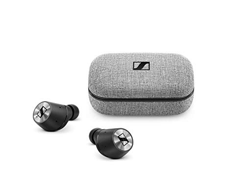 Sennheiser MOMENTUM True Wireless In-Ear Headphones with Touch Control, Transparent Hearing and Charging Case