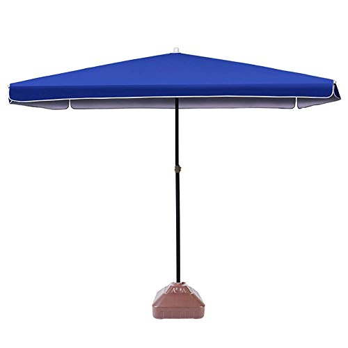 ZGYQGOO Garden Parasol Sun Umbrella Patio Perfect Patio Umbrella Upgrade with 4 Lightweight and Durables Sun Protection for Pool Deck Table