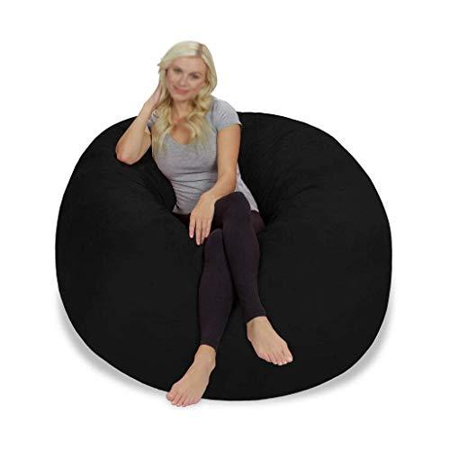 N/Z Living Equipment Sack Sitzsack Stuhl Giant Foam Furniture Wohnzimmer Großes Sofa Weiche Mikrofaserabdeckung ohne Paing