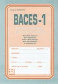 Baces 1. Hoja de respuesta paquete de 25