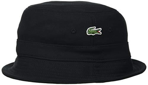 Lacoste RK2056 Casquette de Baseball, Black, L Homme