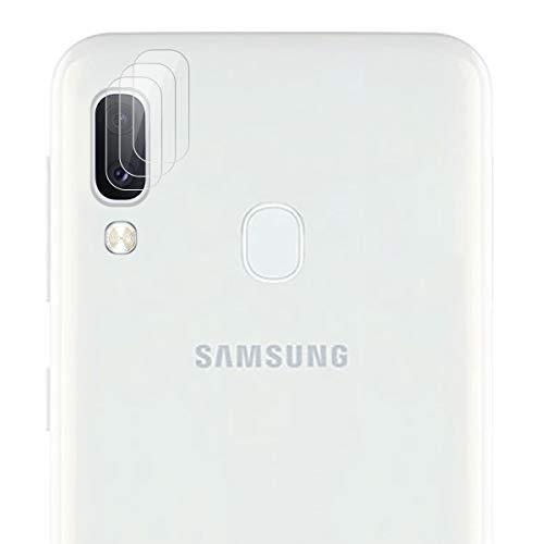 ROVLAK Cámara Protector de Pantalla para Samsung Galaxy A20E Cámara Cristal Templado Protector 3-Pack 9H Anti-explosión Anti-rasguños Cámara Lens Protector para Samsung Galaxy A20E