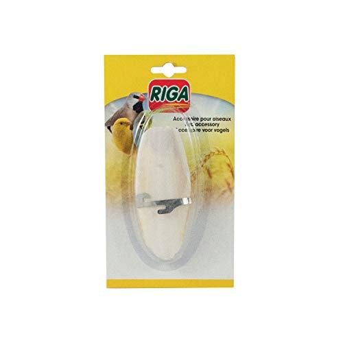 Riga Os de Seiche + Support pour Oiseau - Lot de 2 (2 x 17 g)