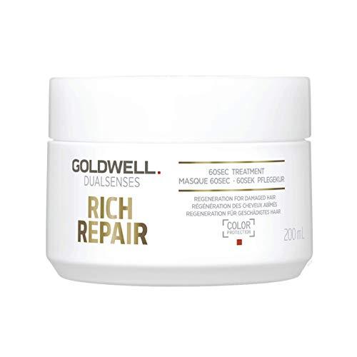 Goldwell Dualsenses Rich Repair Restoring 60 seconds Treatment, 1er Pack (1 x 200 ml)