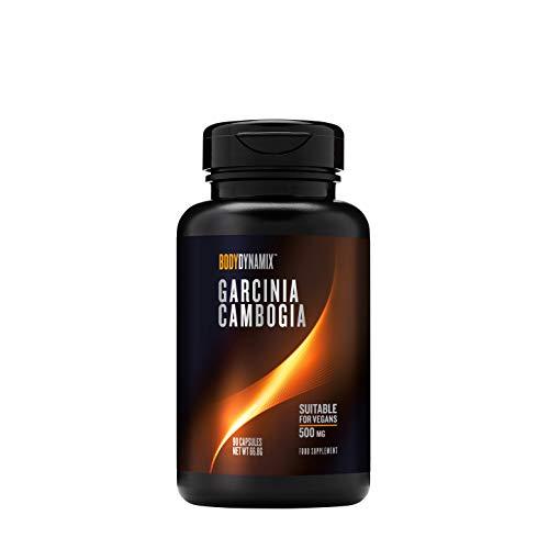 Bodydynamix™ Garcinia Cambogia 500 mg, 90 Kapseln, unterstützt den Gewichtsverlust