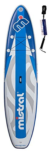 Mistral Adventure Edition Line Superlight Woven-Fusion Layer Technology, tabla de surf de remo, SUP inflable, incluye SUPwave.de Coil-Leash Stand Up Paddle Board iSUP (11,5)