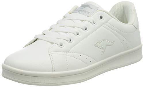 KangaROOS Damskie buty sportowe K-Ten II, biały - Białe lustro 0064-42 EU