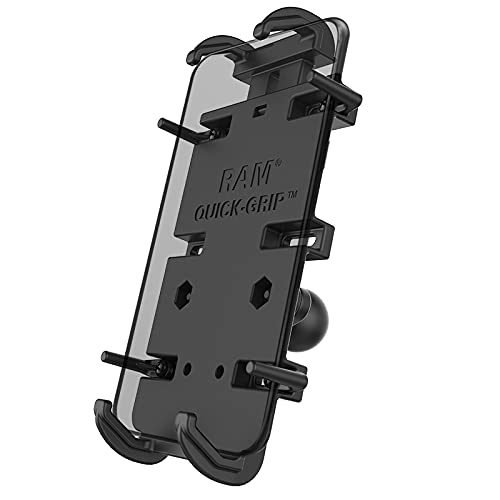 RAM Mounts Quick-Grip XL Phone Holder with Ball RAM-HOL-PD4-238AU with B Size 1