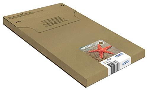 EPSON 603XL MultiPack Tinta 4 Colores C13T03A64510 | Cartuchos XL Negro Cian Magenta y Amarillo | Compatible...