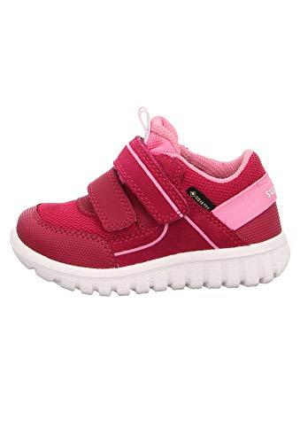 Superfit Mädchen SPORT7 Mini Sneaker, Rot (Rot/Rosa 50), 27 EU