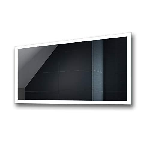 Controluce LED specchio su misura illuminazione sala da...