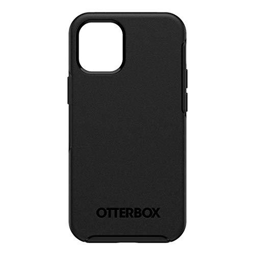 OTTERBOX - RETAIL - Retail Symmetry Plus Handyhülle, schwarz, iPhone 12 Mini, MagSafe, 9664675000