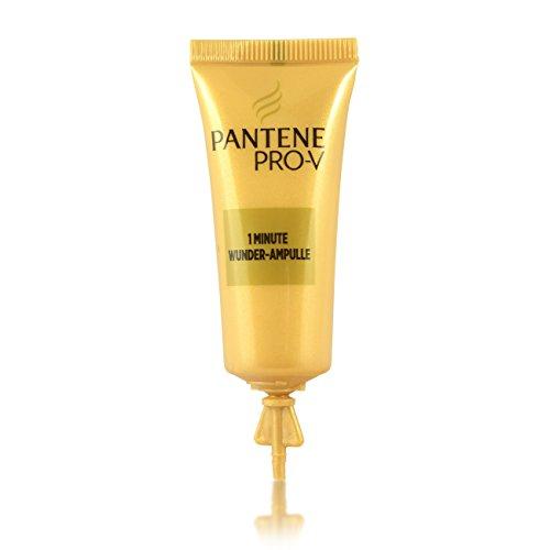 Pantene Pro-V Lot de 5 ampoules de soin intensif 1 minute - Pour les cheveux de voyage - Cure miraculeuse - 5 x 15 ml