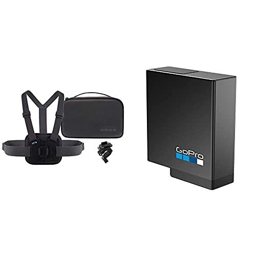 GoPro AKTAC-001 Kompakte Tasche Sport-Kit und Akku für HERO7 Black, HERO6 Black, HERO5 Black oder Hero 2018 (Offizielles GoPro-Zubehör)