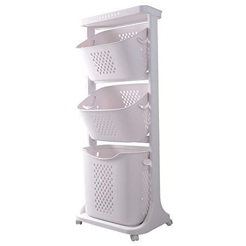 洗濯物かご ランドリーバスケット 洗濯カゴ ランドリーラック キッチンワゴン ランドリーボックス 洗濯物入れ おしゃれ 脱衣カゴ 収納バスケット ランドリーワゴン 風呂